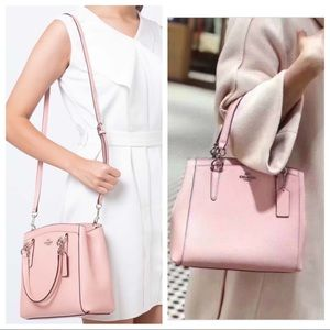 NWT! Coach Minetta Petal Pink Crossbody Bag F67091